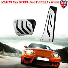 For Automatic AT M Performance Sport Stainless Steel Foot Pedals Pads Covers