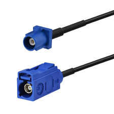 6 FT Fakra BLUE C Male to Fakra BLUE C Female GPS antenna Extension cable RG174