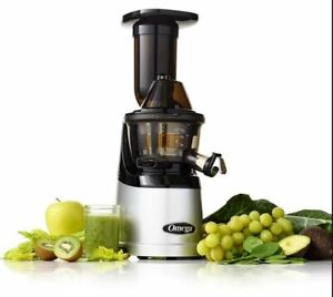 OMEGA MMV700S MEGAMOUTH LOW-SPEED JUICER SILVER