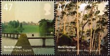 GREAT BRITAIN - 2005 - World Heritage - MNH Se-Tenant -  Joint Issue - #2284-85