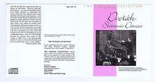 DVORAK CD  BBC SLAVONIC DANCES / VACLAV TALICH/ CZECH PHILHARMONIC ORCHESTRA