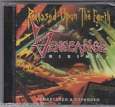 VENGEANCE RISING - RELEASED UPON THE EARTH (*NEW-CD, 2014) Remastered w 3xBonus