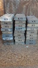 Lead bars 10lb clean shop-made ingots sinkers bullets  BEST PRICE
