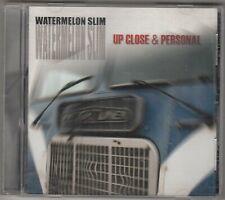 WATERMELON SLIM - up close & personal CD