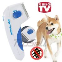 Electric Head Lice Nit Comb Removal Flea Doctor For Dogs & Cats Pets Brush 2020