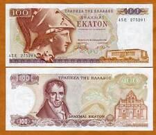 Greece, 100 Drachmai, 8-12-1978, P-200, Last pre-Euro, Unc