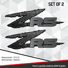 ZR5 ZR-5 4x4 VINYL DECAL STICKER S-10 EXTREME Sonoma ZR-2 S10 SA0218