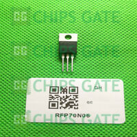 15PCS RFP70N06 Encapsulation:TO220,70A, 60V, Avalanche Rated, N-Channel