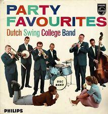 The Dutch Swing College Band Party Favourites EX Vinyl Album LP Philips P08060L