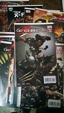X-men Comic Lot x-force 1-12 variant 2 14 nm bagged boarded