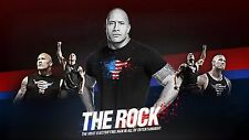 The Rock WWE 24 x 36 Poster