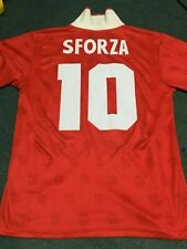 SUISSE SWITZERLAND SFORZA USA 1994 WORLD CUP VINTAGE AUTHENTIC JERSEY  !