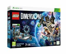 Lego Dimensions: XBOX 360-Starter Pack-New & Sealed