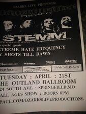 Stemm * Rare Concert Flyer *