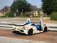 TECHNIC Lamborghini 76899 SVJ Roadster 42083 RC 75104 Race Car 42065 Formula E