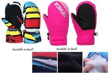 Kids Snow Proof Mittens Waterproof Thermal Ski Snowboarding Gloves Size 5-6 yrs