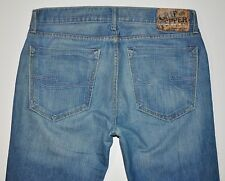 Chip & Pepper Men's Ike Nifus Light Med Blue SlimStraight Jeans 34 X 33 3/4 Long