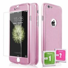 360 ShockProof Case Cover + Tempered Glass for IPHONE 6 / 6S ROSE GOLD Full