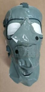 Vintage Cold Weather Protection Vinyl Face Mask Made in Japan Steampunk