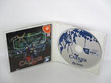 CARRIER Item Ref/ccc Dreamcast Sega Import Japan Game dc