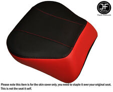 RED & BLACK VINYL CUSTOM FITS HARLEY BRAKEOUT 13-16 SUNDOWNER REAR SEAT COVER
