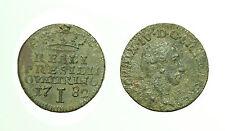 pcc1628_1) FERDINANDO IV DI BORBONE Reali Presidi di Toscana 1 Quattrino 1782