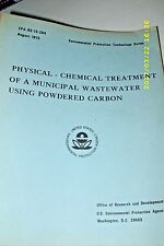 PHYSICAL-CHEMICAL TREATMENT OF A MUNICIPAL WASTEWATER USING POWDERED CARBON