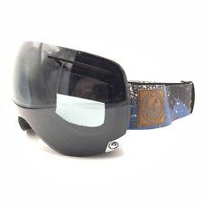 Dragon Alliance X1 Blue Black Brown Smoke Grey Ski Snow Goggles