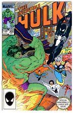 1)INCREDIBLE HULK #300(10/84)AVENGERS/SPIDER-MAN(*EARLY BLACK COSTUME)CGC IT/NM!