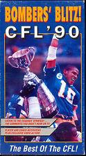 CFL 1990 GREY CUP FOOTBALL STORY VHS WINNIPEG BLUE BOMBERS BLITZ CHAMPIONSHIP