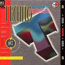 Techno House 2 (1991) Westbam, Interactive, t99, sl2, Moby, Hypnotist [CD DOPPIO]