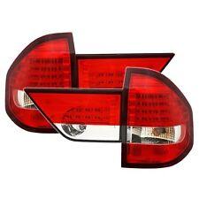 FEUX ARRIERE LED BMW X3 E83 01/2004-09/2006 BLANC ROUGE CRISTAL