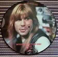 """Iron Maiden Bruce Dickenson Vinyl 12"""" Interview Pic Disc Unofficial 1986 MM1202"""