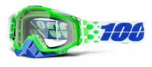 Ride 100% Racecraft Moto Alchemy MX Goggle w/Clear Lens, NEW!
