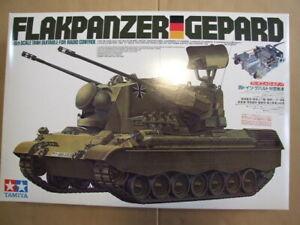 Tamiya 1/16 West Germany anti-aircraft tank Gepard ITEM: 56003 Unused item