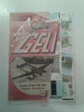 Geli Technischer Modellbogen Focke Wulf FW 189 Paper Model