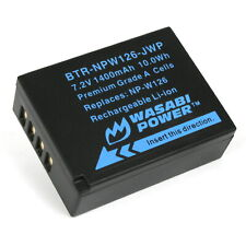 Wasabi Power Battery for Fujifilm NP-W126, NP-W126S