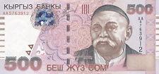 Kirgisistan / Kyrgyzstan 500 Som 2000 Pick 17