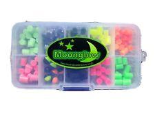 Moonglow attractors. Plaice attractor beads box. Luminous , neon , dayglow