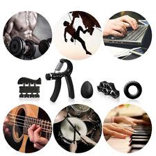 6Pcs Set Hand Grip Trainer Adjustable Forearm Strength Exerciser Finger Ext ^P