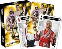 WWE Legends set of 52 playing cards + jokers (nm)