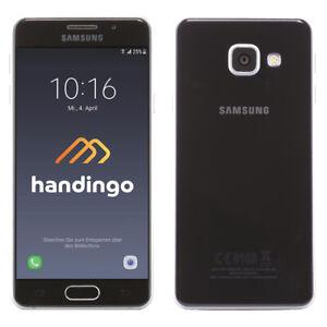 Samsung Galaxy A3 (2016) SM-A310F 16GB Smartphone Noir ! Très Bien ! Wow