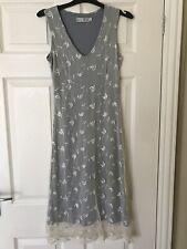 Vintage Floral Lace Dress By Diva Size S/M Size 10