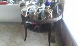 """Barbara Barry Fluted Edge Center Table by Baker  38""""w × 30.5""""h"""