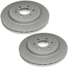 Pair Set of 2 Vented Rear Brake Disc Rotors 320mm ACDelco GM OE For Cadillac SRX