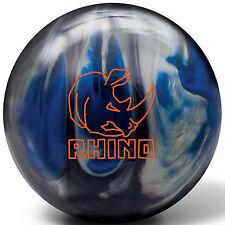 Brunswick Rhino 10 LB Black Blue Silver Bowling Ball NIB 1st Quality