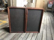 Wharfedale W6O D Speakers, Very Good, Wood Veneer, Heavy, Also Local Pickup