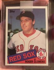 1985 Topps #181 Roger Clemens Rookie Card! HOF? AWESOME! MAJOR MOJO! A+