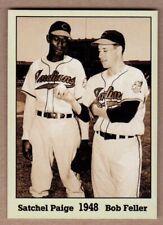 Satchel Paige & Bob Feller '48, Monarch Corona Immortals #7, nm-mint cond.