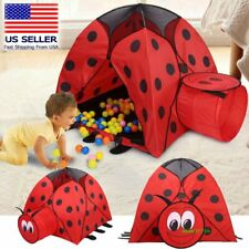 Portable Kid Baby Game House Indoor Outdoor Toy Tent Game Play Hut Pop up Tent #